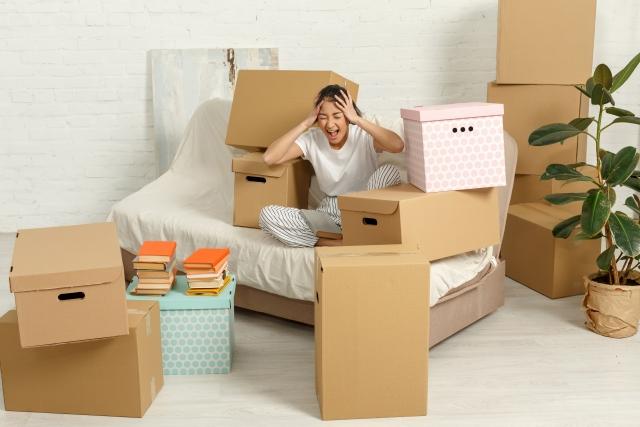 失恋して引っ越しをするときに注意すべきこと